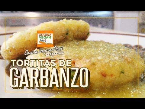 Tortitas de garbanzo - Cocina Vegan Fácil