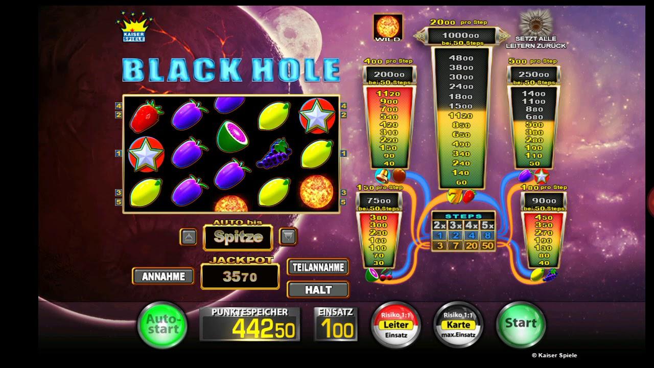 black hole spiel nummer