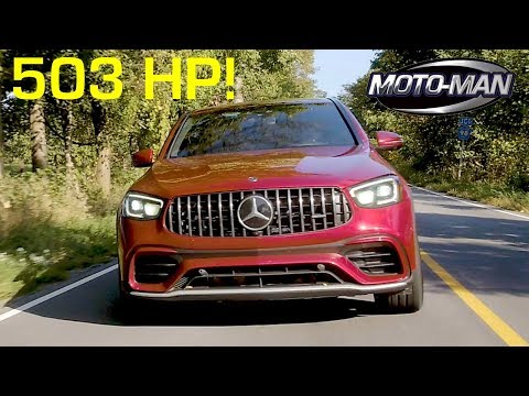 Mercedes AMG has built a practical 503 HP SUV! The 2020 GLC 63 S Coupe