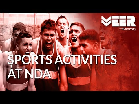Sports Activities for Cadets at National Defence Academy | Making of a Soldier | Veer by Discovery