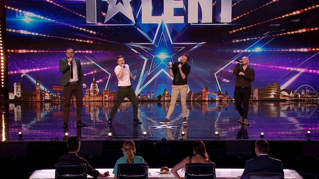 Britain's Got Talent 2020 The Noise Next Door Comedy Group Full Audition S14E07