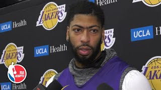 Anthony Davis on season opener, facing Kawhi and Clippers | NBA on ESPN