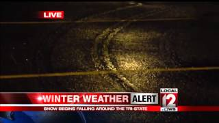 Snow falls around Tri-State