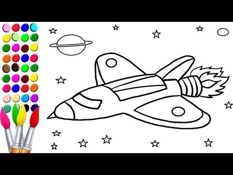 Gökyüzündeki Uçak Resim Boyama Oyunu