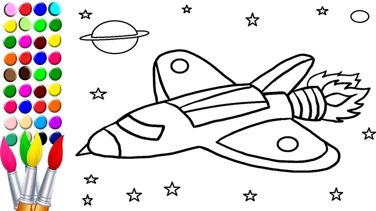 Uçak Boyama Ve çizim Youtube