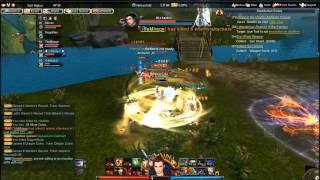 Swordsman Online PVP Wu-tang Flame Order