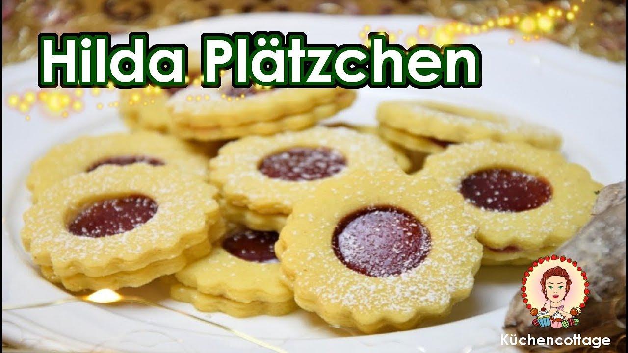 Hilda Plätzchen Linzer Plätzchen Rezept Weihnachten