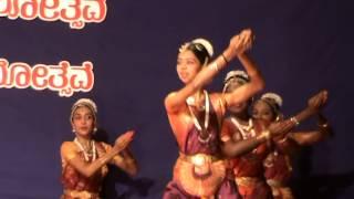 kasthuri thilakam shloka dance by krithika bhat