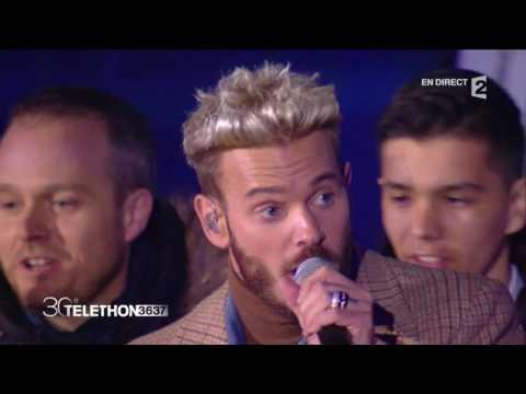 "Matt Pokora, Jenifer & Garou - ""Au bout de mes rêves"" - Téléthon 2016"
