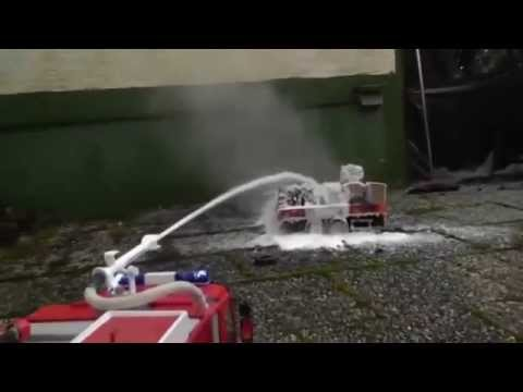 RC ACCIDENT, RC TRAILER ON FIRE, RC FIRE TRUCK