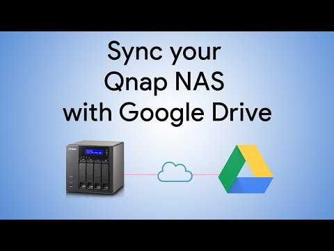 Sync Qnap NAS with Google Drive