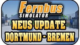Dortmund - Bremen - Fernbus Simulator #13 - Lets Play FERNBUS SIMULATOR