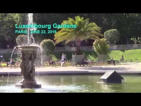 Luxembourg Gardens, Paris, June 22, 2016