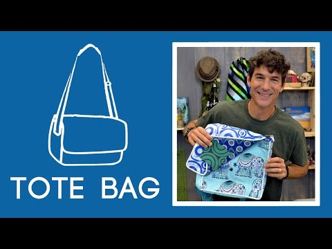 Make a Cool Tote Bag with Pockets, Piping, and Lining!