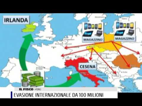 EVASIONE FISCALE INTERNAZIONALE DA 100 MILIONI