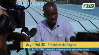 BASSE-TERRE : la piscine intercommunale est remise en eau
