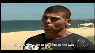 Operação Praia em forma no Espírito Santo_Jornal da TV Vitória - 23.01.2014