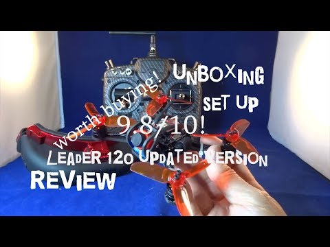 Leader 120 (updated version) - Review (first 26.53 mins) + unboxing + set up instructions