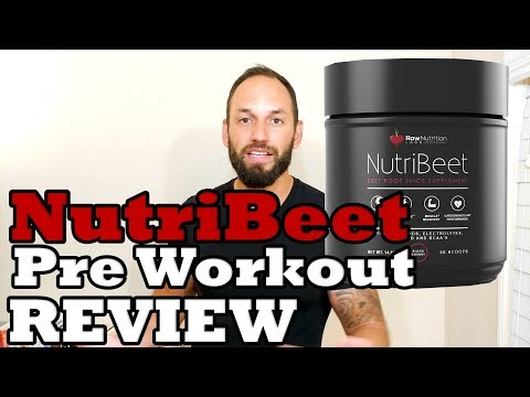 NutriBeet Pre Workout | Beetroot Juice | RAW Nutrition 2017 Supplement Review