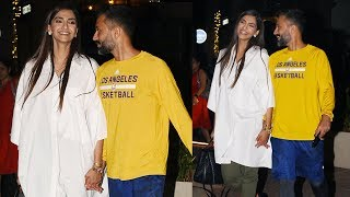 Sonam Kapoor steps out for a dinner date with Anand Ahuja