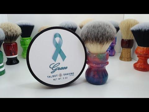 """Talbot Shaving """"Grace"""" shaving soap review!"""