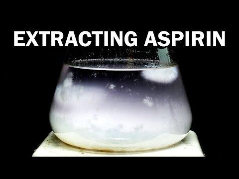 Aspirin to Acetaminophen (Tylenol/Paracetamol)  - Part 1: Extracting Aspirin from Pills