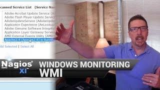 WMI Monitoring - Windows Monitoring with Nagios XI