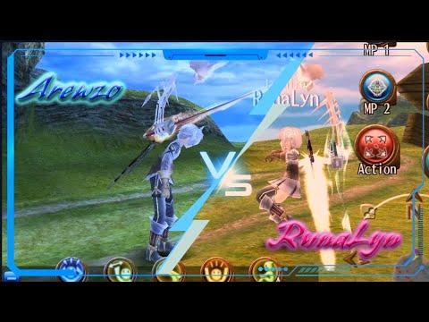 Toram Online: FUN Battle PVP (Our Version XD) : Arewzo Vs RunaLyn!!
