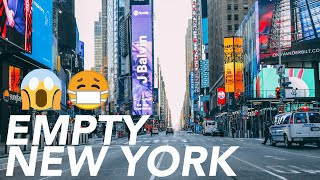 Empty New York in Lockdown New York is empty during this lockdown, the emptiest it has been in over 80 years. Let's take a drive down Broadway from 122nd Street to Battery Park. This was ...