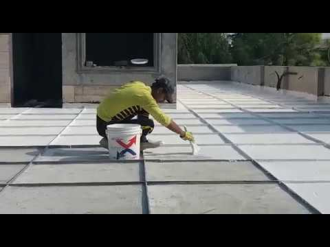 """Best Roofing For Water & Heat Stop In Town, Apply """"isothane"""" On Roof-top, Www.samz.com.pk"""