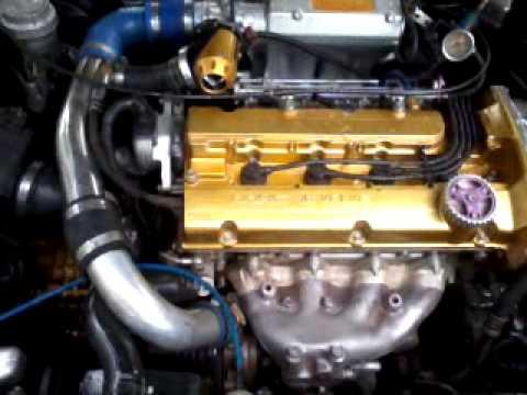 World 4G93 turbo drag 1/4 261mph 3 2 s