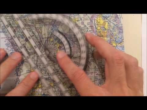 VFR Nav Log (Video 2) True Course and Distance
