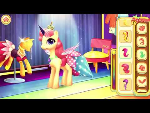 Pony Princess Academy Android Gameplay 01 by PoltavaIL2
