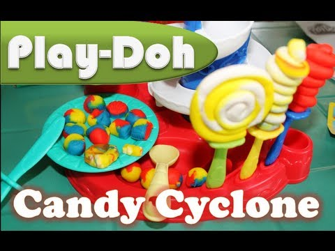 play doh candy cyclone lollipops gumballs play doh kids 39 toys youtube. Black Bedroom Furniture Sets. Home Design Ideas