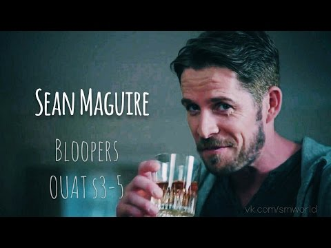 Sean Maguire Bloopers Once Upon A Time Season 3, 4, 5