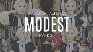 SHOPPING HACKS FOR MODEST FASHION