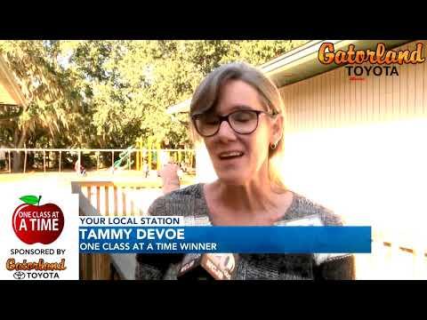 Gatorland Toyota | One Class at a Time | Tammy DeVoe - Littlewood Elementary School