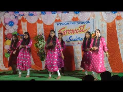 WISDOM HIGH SCHOOL FAIRWELL PARTY DANCE SRISALM project
