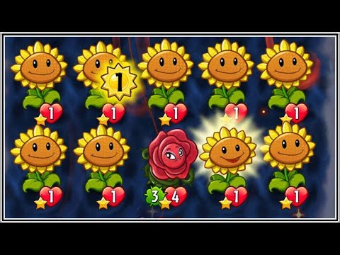 Sun Power - Power to the Flower | Plants vs Zombies Heroes Gameplay