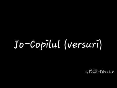 JO-Copilul (versuri)