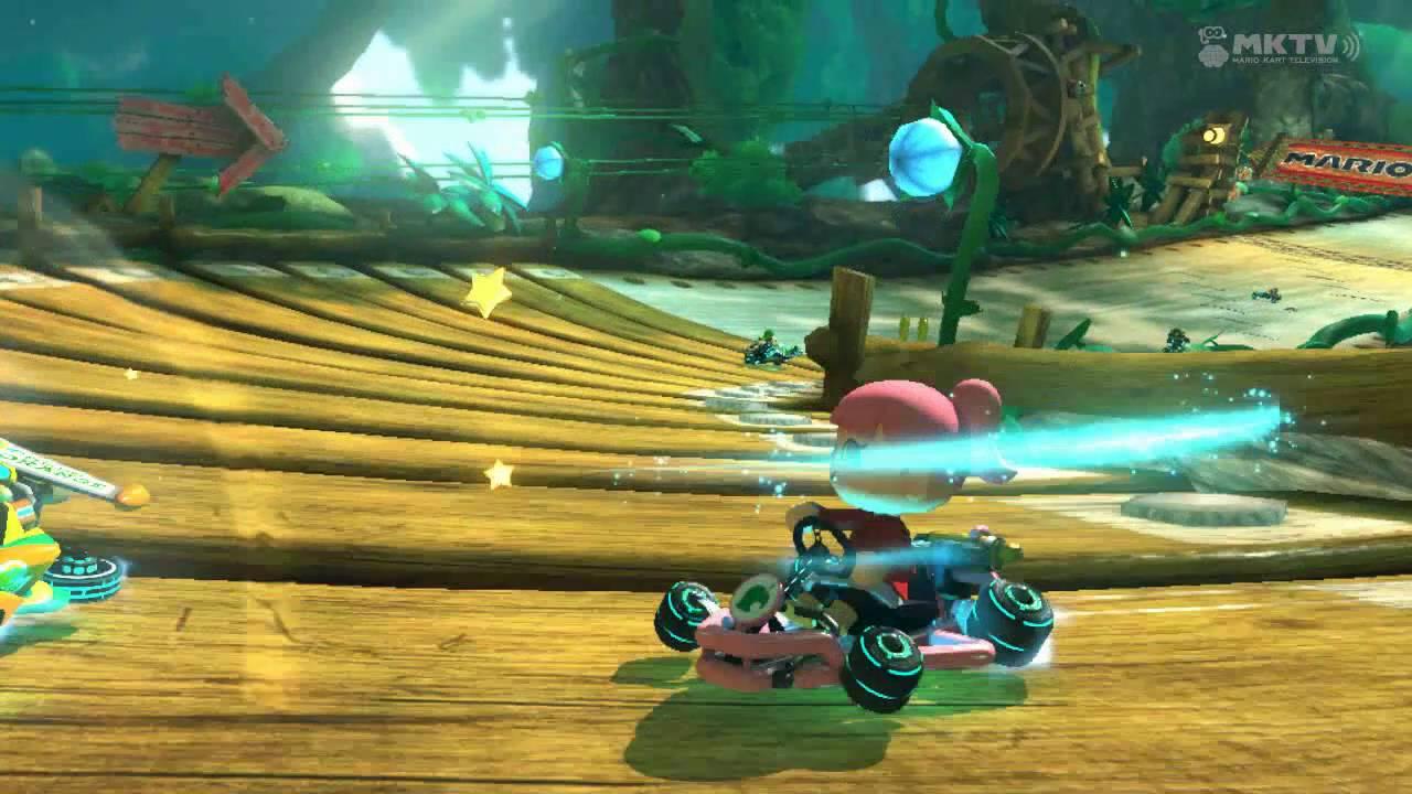 Wii U - Mario Kart 8 - Wild Woods Reddit r/WiiU Tournament 6