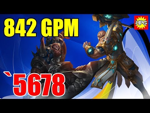 HoN Legionnaire Mercenary Gameplay - `5678 - Legendary - Casual Mode