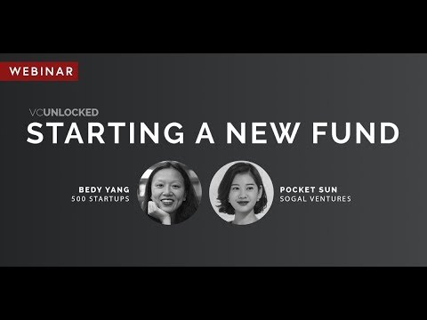 [VC Unlocked] Webinar: Starting a Fund