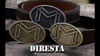 DiResta Cast Brass Buckle
