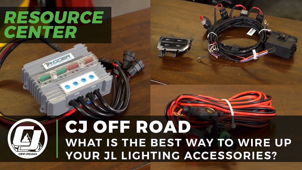 best ways to wire up your jeep wrangler or gladiator accessories crazy wiring jeep [ 1280 x 720 Pixel ]