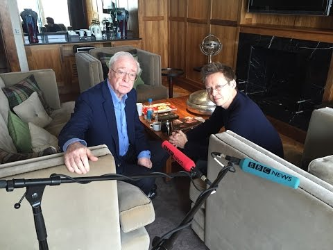 Sir Michael Caine interviewed by Simon Mayo
