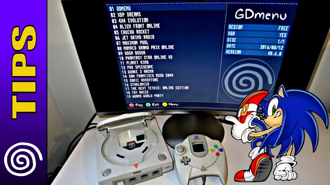 [TIPS] GDEMU: Flashcard para Dreamcast (China)