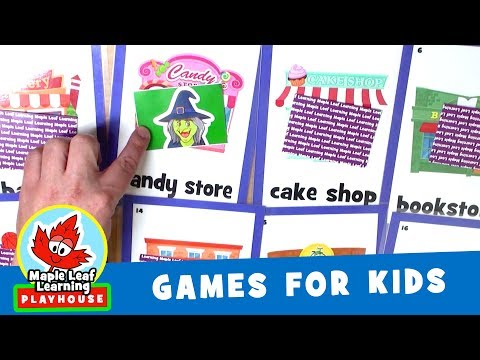 Where is Marty Moose Game for Kids | Maple Leaf Learning Playhouse