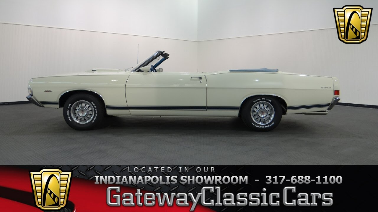 1968 Ford Torino Gt Convertible 632 Ndy Gateway Classic Cars 1969 Indianapolis