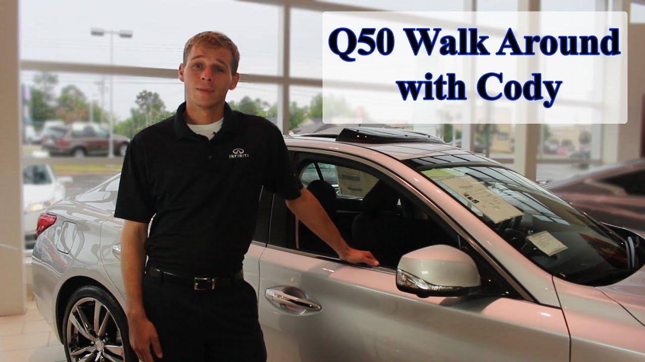 Q50 Sport Walk Around With Cody At Napleton Infiniti Of